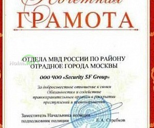 Группа компаний Security SF