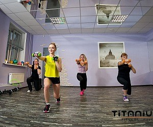 Фитнес-клуб TITANIUM fitness hall